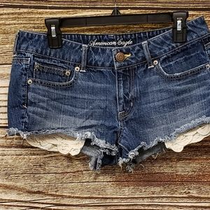 American Eagle Short shorts size 10 Pre-owned